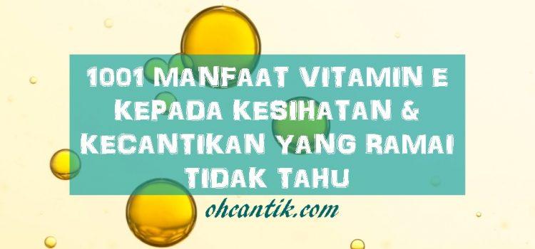 Cara Menghilangkan Jerawat Mudah: Ambil Vitamin Yang Betul