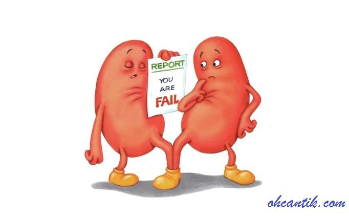 penyakit buah pinggang kering