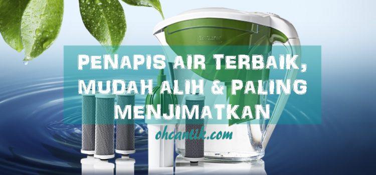 Penapis Air Terbaik Dengan Hasil Tapisan Hampir Setanding pH Air Zam Zam