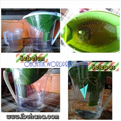 Testimoni penapis air get clean water pitcher shaklee