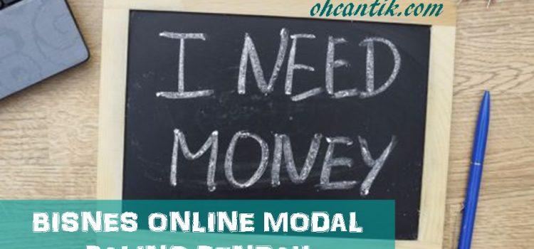 Bisnes Online Modal Paling Rendah