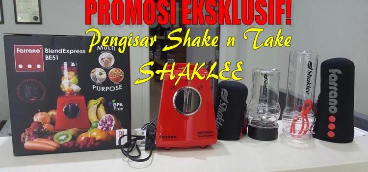 Pengisar Shake n Take Eksklusif Shaklee: Ferrano Blender