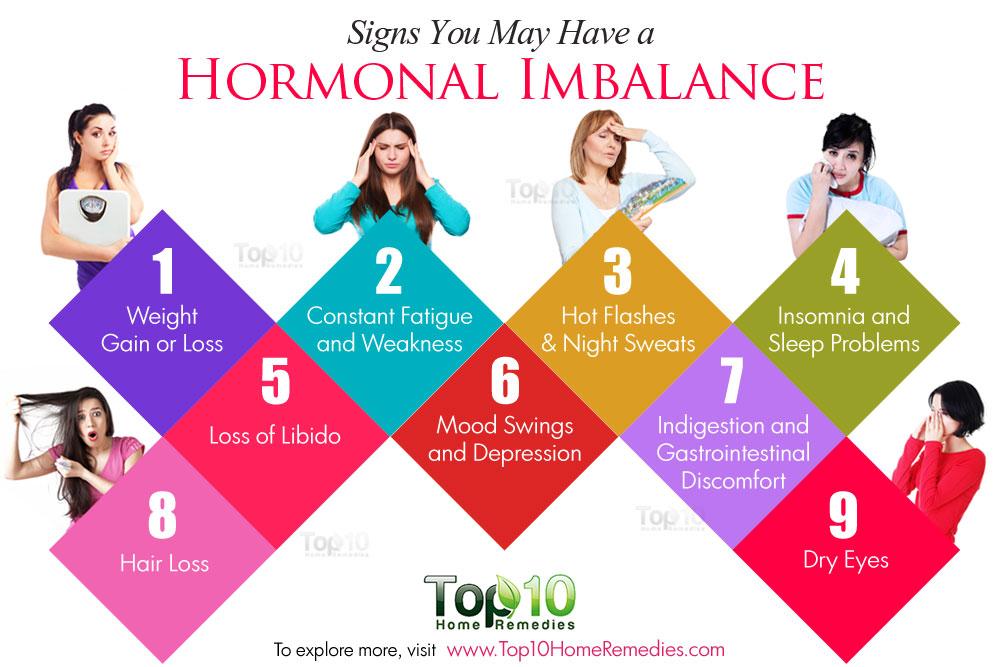 hormon tak stabil