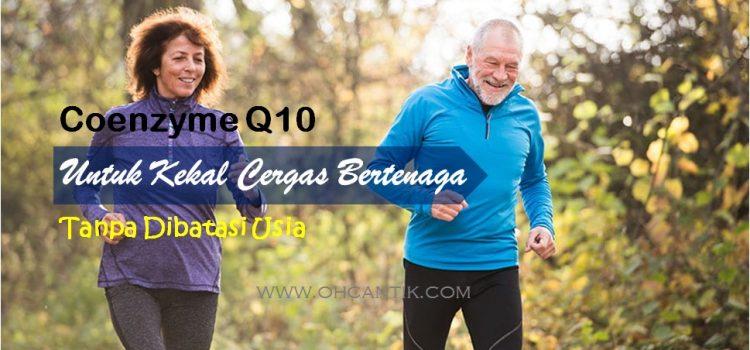 Khasiat CoQ10 Untuk Kesihatan Orang Dewasa