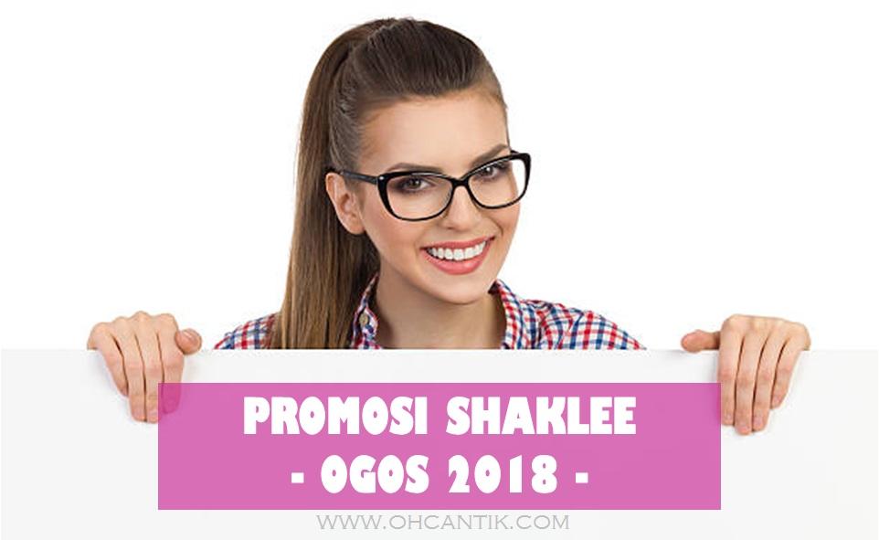 promosi shaklee 2018