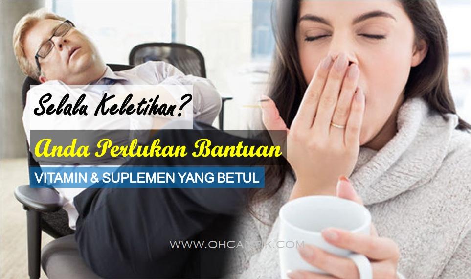 vitamin dan suplemen untuk tambah tenaga