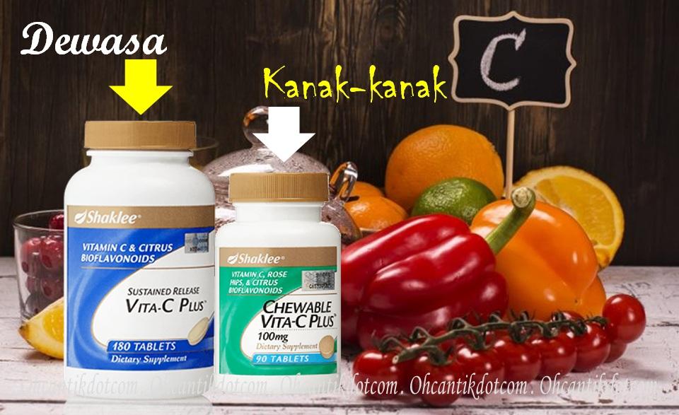 vitamin c untuk kanak-kanak