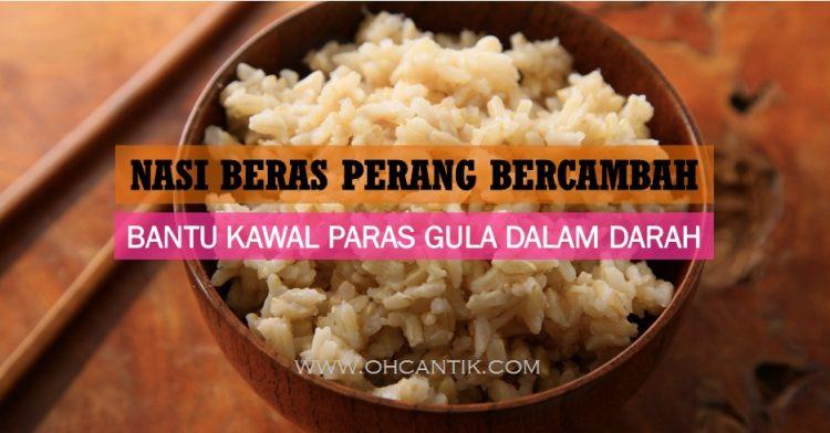 Nasi Untuk Kencing Manis: Makan Setiap Hari Tanpa Risau