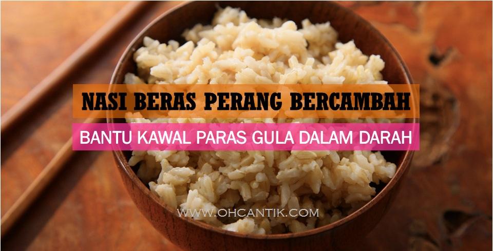 nasi untuk kencing manis
