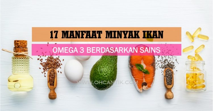 Fungsi Omega 3 (Minyak Ikan) Penting Untuk Kesihatan