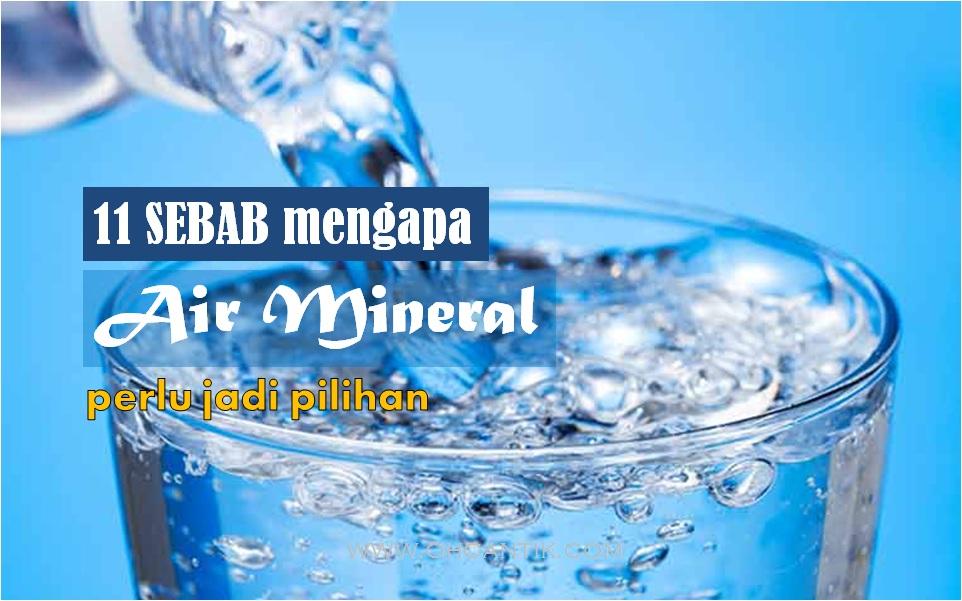 kelebihan air mineral