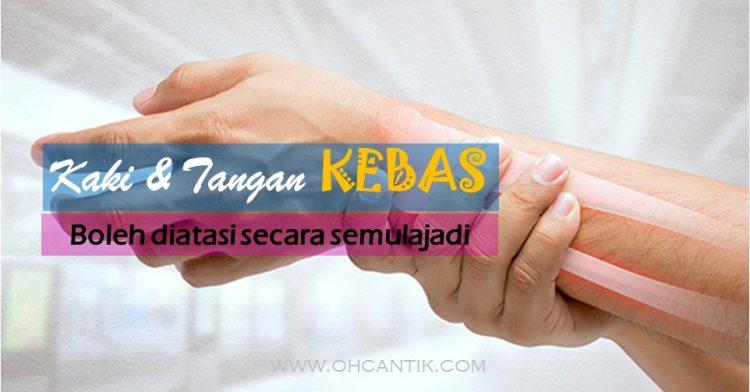 Kaki Tangan Kebas Diatasi Dengan Omega 3