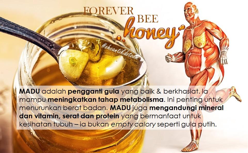 8 manfaat madu mentah